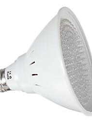 6W E26/E27 Lampes Horticoles LED PAR30 168 LED Intégrée 500 lm Rouge Bleu Orange Décorative AC 100-240 AC 110-130 V 1 pièce