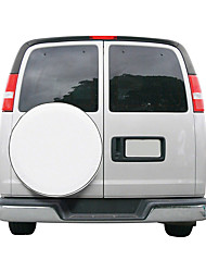 Universal Spare Tire Cover White 16inches