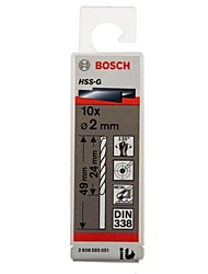 Bosch hss-g broca de torção g2.5mm / bag