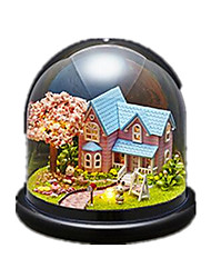 Maison de Poupées Loisirs Circulaire Bois