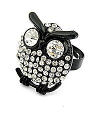 Han Edition Style Set Auger Owl Ring
