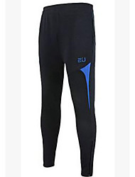 Men's Running Tights Breathable Exercise & Fitness Spandex Slim Athleisure Dark Blue Army Green Red Green Blue