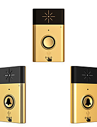 Wireless Voice intercom Doorbell Support Indoor and Outdoor Voice Intercom Up to   200ft Work Range Two Trasmitter and One  Receivers