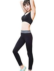 Yoga Soutien-Gorges de Sport Collants Respirable Doux Confortable Extensible Vêtements de sport FemmeYoga Exercice & Fitness
