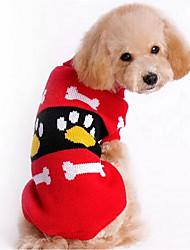 Собака Свитера Одежда для собак На каждый день Мода Носки детские Красный Розовый