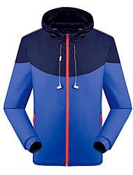 Herrn Jacke Oberteile Camping & Wandern Angeln Klettern Hinterland MotorradAtmungsaktiv Rasche Trocknung Windundurchlässig UV-resistant
