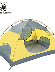 徽羚羊 2 persons Tent Double Automatic Tent One Room Camping Tent Oxford Waterproof Breathability Ultraviolet Resistant Windproof Foldable-