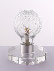 3 Moderne / Contemporain Lampe de Bureau , Fonctionnalité pour LED , avec Chrome Utilisation En ligne Interrupteur