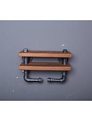 Wall ShelvesZ37 Kitchen Cast Iron Wood Rack & Holder