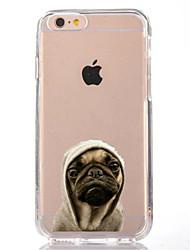 Para iPhone X iPhone 8 Carcasa Funda Transparente Diseños Cubierta Trasera Funda Perro Suave TPU para Apple iPhone X iPhone 8 Plus iPhone