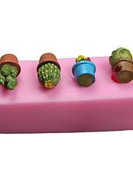 Molde Para Bolo Para Chocolate para Candy Silicone Ano Novo Dia de Ação de Graças Anti-Aderente Ecológico Aniversário Férias