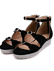 Women's Sandals Spring SummerSlingback Club Shoes Gladiator Formal Shoes Comfort Ballerina Novelty Flower Girl Shoes Ankle Strap Light