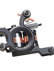 New Professional Tattoo Machine Shader 10 Warps Coils Cast Iron Shadering Machine for Beginner Tattoo Supply
