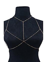 Women's Body Jewelry Body Chain Handmade Fashion Alloy Geometric Jewelry For Casual 1 pcs