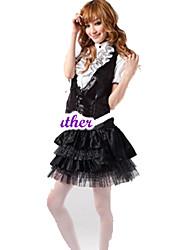 Tenue Doux Princesse Cosplay Vêtrements Lolita Manches courtes Court / Mini Pour