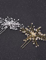 Cristal Casque-Mariage Occasion spéciale Accessoires pour Cheveux Epingle à Cheveux barre Cheveux 1 Pièce