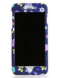 Для яблока iphone 7 7plus чехол чехол картины полный корпус корпус цветок твердый ПК 6 с плюс 6 плюс 6 с 6