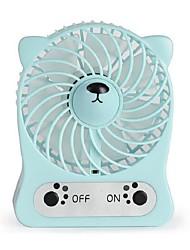 Chargeur de petit ventilateur usb portable ventilateur à main ventilateur de bureau muet de bande dessinée