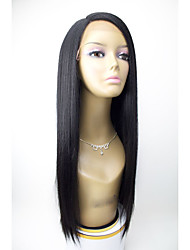 Top Quality 100% Brazilian Virgin Hair Wig Skily Straight Human Hair Wigs Glueless Lace Front Wigs For Woman With Baby Hair