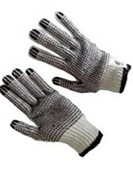 Skadden Gloves Double-Sided Plastic Operation Work Gloves Industrial Protective Gloves / 1 Vice