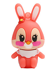 Hot coelho novo cartoon usb 2.0 8 gb flash drive memory stick