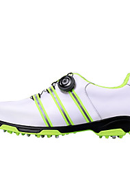 Hiking Shoes Casual Shoes Golf Shoes Men's Anti-Shake/Damping Cushioning Wearproof Breathable Outdoor Performance Low-Top Rubber Hiking