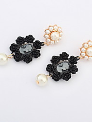 Earrings Jewelry Euramerican Fashion Personalized Pearl Gem Alloy Jewelry Jewelry For Wedding Special Occasion 1 Pair