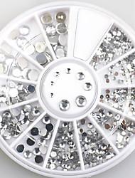 4size 3d украшения искусства ногтя акриловые алмазы формы стразы для ногтей арт аксессуары