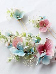 Сплав ткани headpiece-wedding специальный случай случайный напольный цвет волос штырь волос 1 часть
