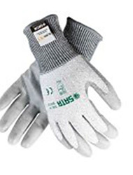 Star gloves 8 PU Anti Cutting Gloves And Medium-Sized Palm DipIndustrial Protective Gloves