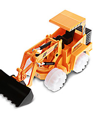 Wheel Excavator Vehicle Playsets Car Toys Metal Plastic White Yellow