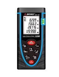 Sndway sw-120 digital 120m 635nm в измерителе расстояний лазера двери с расстоянием&Измерение угла (батареи 1.5v aaa)