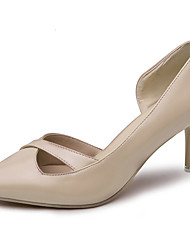 Damen Sandalen Sommer Komfort PU Outdoor Stiletto Ferse