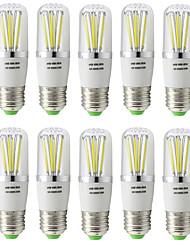 5W E27 Lampadine LED a incandescenza T 6 COB 500 lm Bianco caldo Luce fredda V 10 pezzi