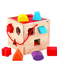 Child Building Toy Toy Wooden 1-2 Year Old Boy 6 Baby Girl 3 Year Old Child 4 Baby Puzzle Early Education Assembly