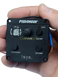 Acoustic Guitar Fishman ISYS T EQ Tone Phase Switch W/Sonicore Pickup Battery Box Output Jack