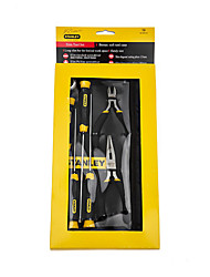 STANLEY Crossed Vanadium Steel Screwdriver 6 Pieces 92-003-23 Manual Tool Set