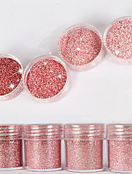 10Ml High Flash Diamond Bright Powder Superfine Powder Sequins Mixed Series Nail Art Decoration For Nail Polish