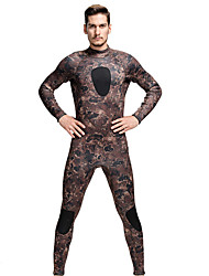 Men's 3mm Full Wetsuit Breathable Quick Dry Anatomic Design Neoprene Diving Suit Long Sleeve Diving Suits-Diving Spring SummerClassic