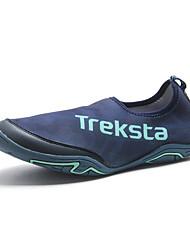 Unisexe Chaussures d'Athlétisme Semelles Légères Néoprène Printemps Eté Extérieure Sport Chaussures d'Eau Talon Plat Marron Bleu Plat
