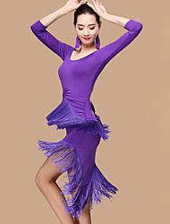 Devrions-nous des robes de danse en latin femmes shorts de tenue de performance