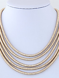 Women's Layered Necklace Rope Magnetic Euramerican Fashion Jewelry For Party Daily 1pc
