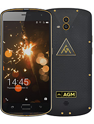 Original agm x1 ip68 imperméable à l'eau 64gb rom 4gb ram 5400mah double caméra qualcomm octa core smartphone otg nfc empreinte digitale