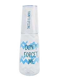 501-600ml прозрачная пластмассовая бутылка с большой емкостью