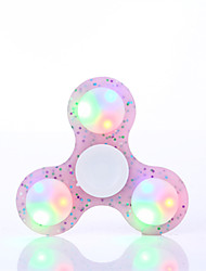 Fidget Spinner Hand Spinner Toys LED Spinner Toys Plastic EDCStress and Anxiety Relief Office Desk Toys for Killing Time Focus Toy