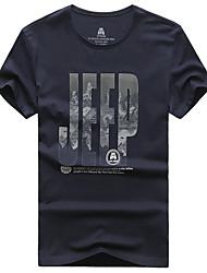 Homme Tee-shirt de Randonnée Séchage rapide Respirable Tee-shirt pour Pêche Eté L XL XXL XXXL XXXXL