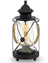 60 Tradicional/ Clássico Rústico Luminária de Escrivaninha , Característica para Proteção para os Olhos , com Pintado UsarInterruptor