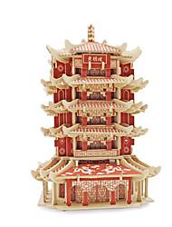Quebra-Cabeças 3D Quebra-Cabeça Brinquedos Construções Famosas Arquitetura 3D Unisexo Peças