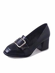 Women's Sandals Spring Summer Gladiator PU Dress Casual Chunky Heel