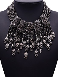Women's Statement Necklaces Jewelry Jewelry Gem Alloy Fashion Euramerican Costume Jewelry Jewelry For Party Gift